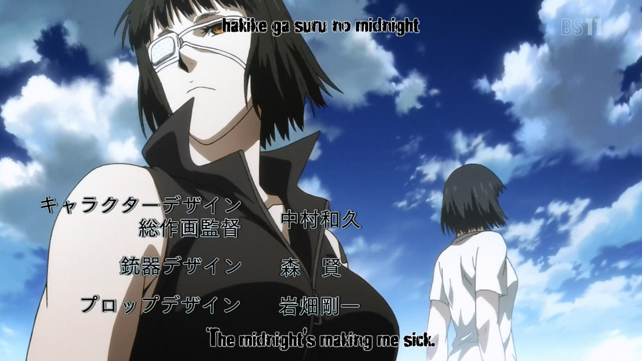 Fansub Review: [Asenshi] Jormungand Perfect Order (Episode 18)