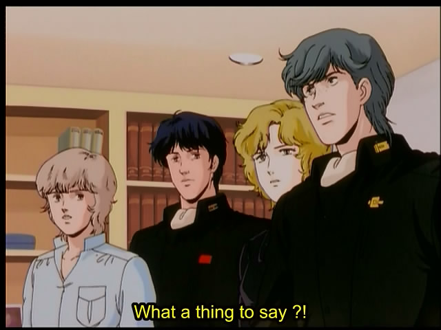 Oldsub Review: [Central Anime] Legend of the Galactic Heroes (Episode 03 – Vintage 199X-200X)