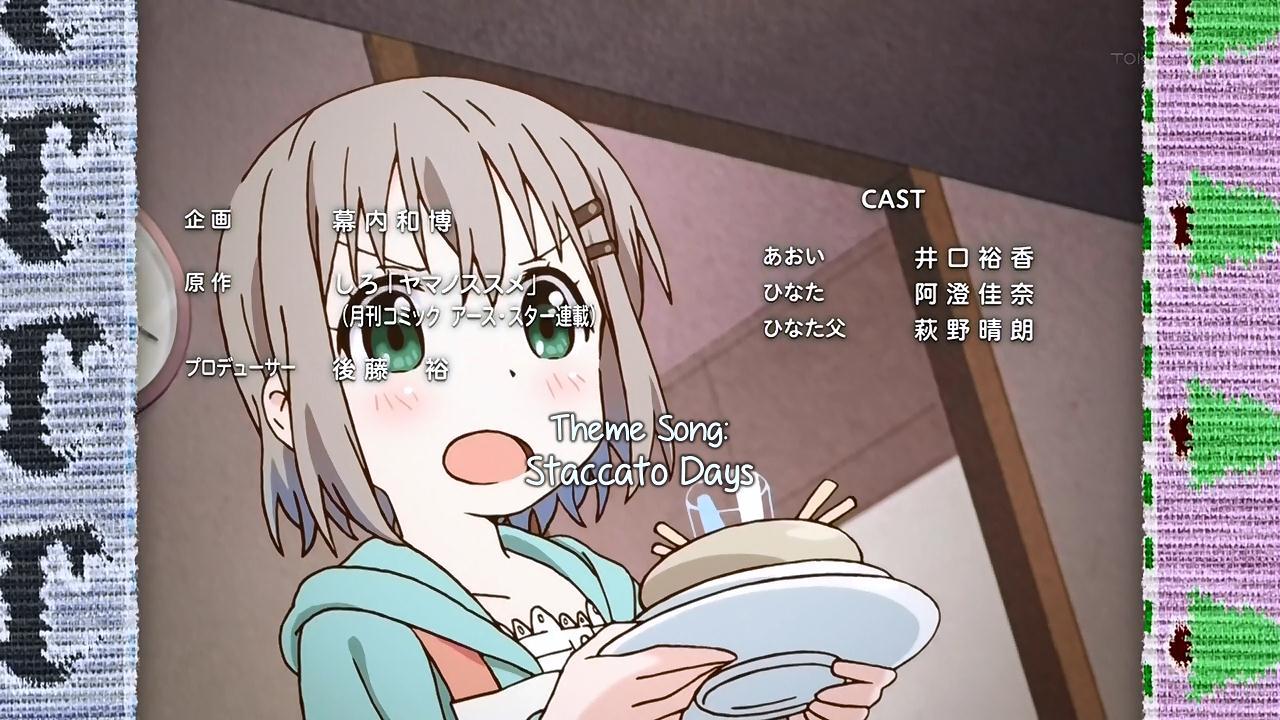 Short Fansub Review: [SHiN-gx] Yama no Susume (Episode 04)