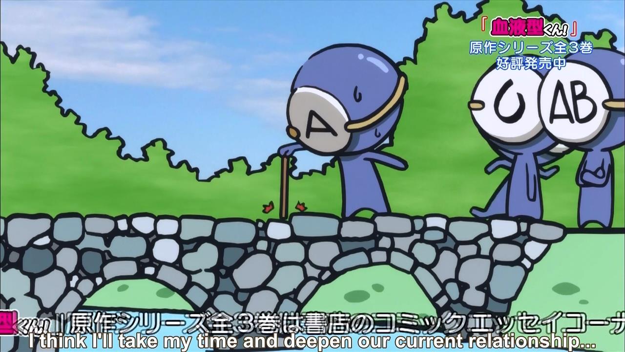 Short Fansub Review: [Chihiro] Ketsuekigata-kun! (Episode 01)