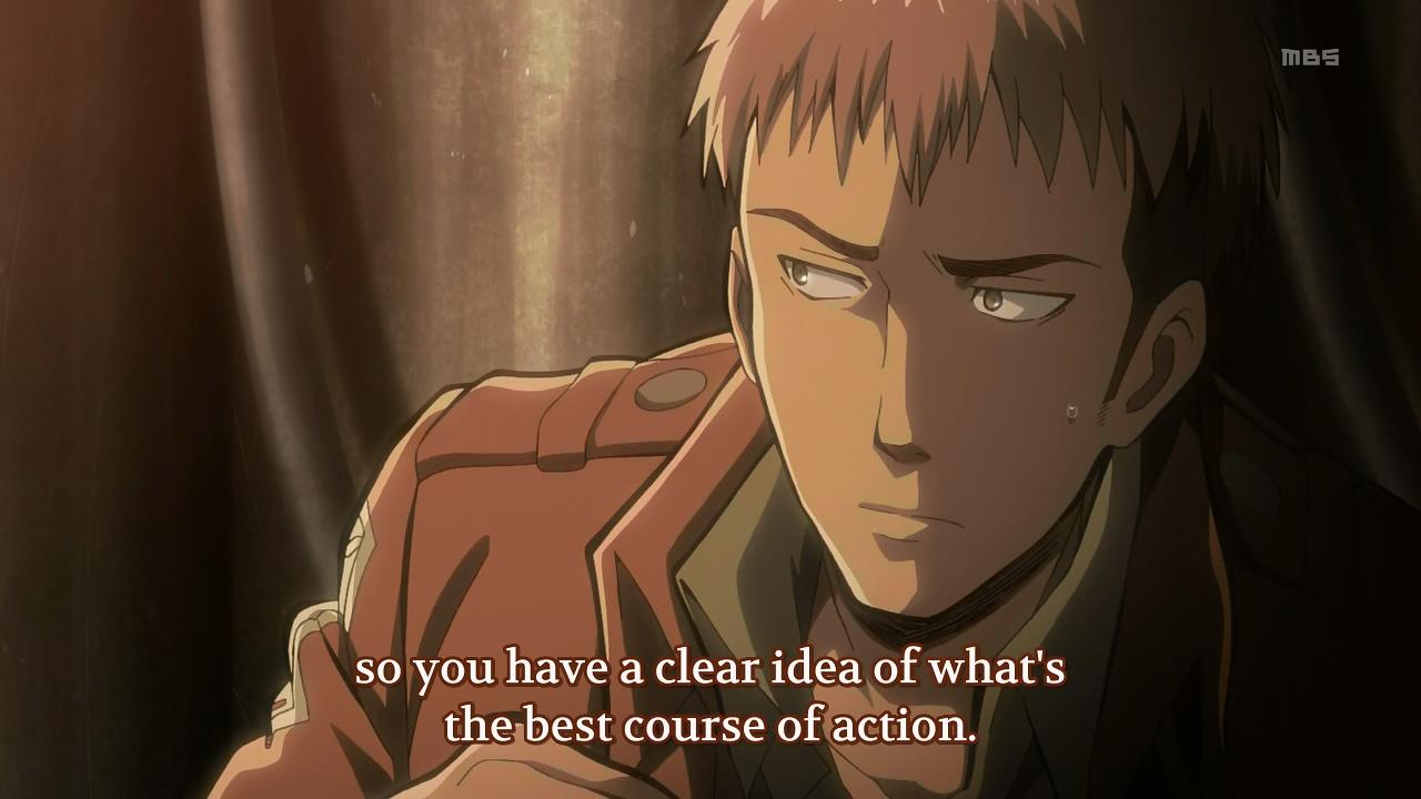 Fansub Review: [EveTaku] Shingeki no Kyojin (Episode 08)