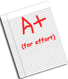 a-for-effort-paper