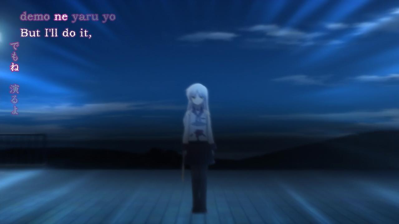 [Doki/UTW] Angel Beats – 01 (BD)