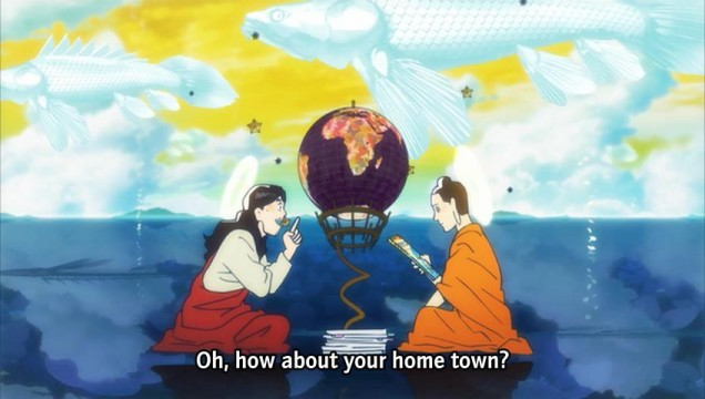 thoughts on saint young men anime