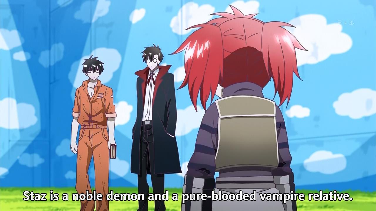 fansub review kaitou blood lad episode 05