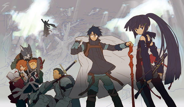 Log Horizon Anime