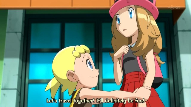 [PM]Pocket_Monsters_XY_007_Leave_it_All_to_Serena!_The_Wild_Sihorn_Race!![H264_720P][BB977276].mkv_snapshot_00.32_[2013.11.28_00.55.03]