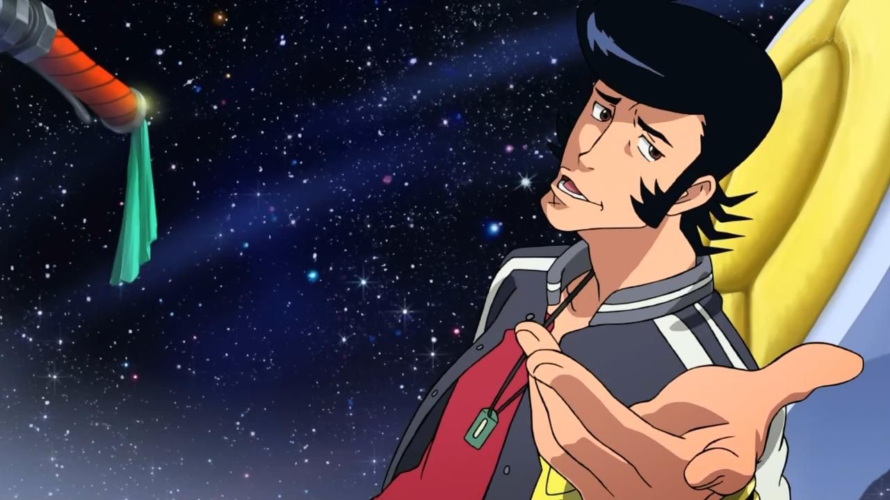Translation Party: [Commie vs. HorribleSubs vs. Oni] Space Dandy (Episode 01)