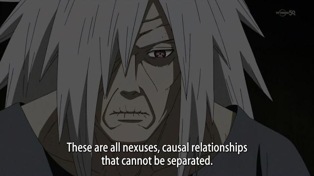 Naruto is pretty deep if I do say so myself