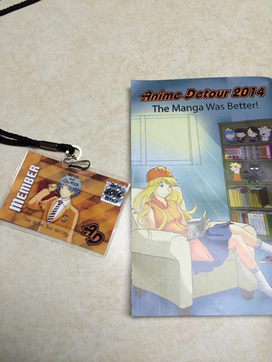 Calyrica's Perspective: Anime Detour 2014