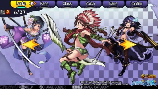 Demon Gaze Females 06