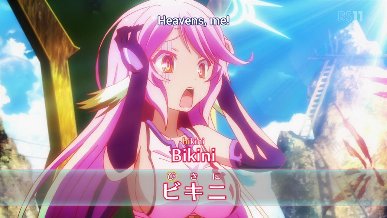 Fansub Review: [Eveyuu] No Game No Life (Episode 06)