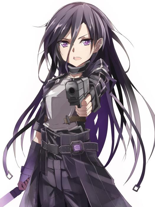 SAO GGO - Kirito - Yashiro (Silver Will)
