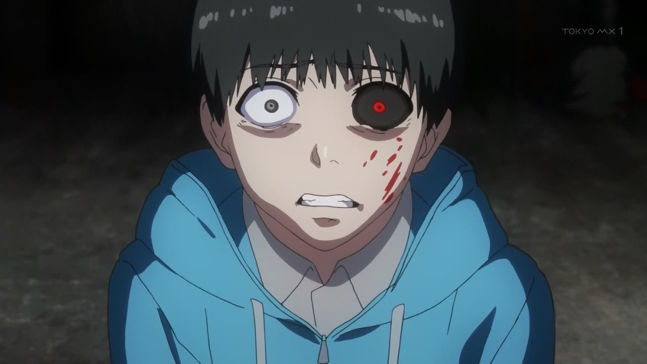 Translation Party: [Chyuu vs Commie vs DameDesuYo vs Hatsuyuki] Tokyo Ghoul (Episode 01)