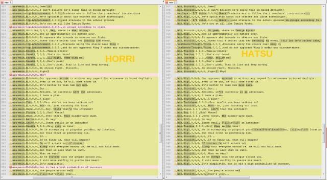 HorribleSubs vs Hatsuyuki - Parasyte 03