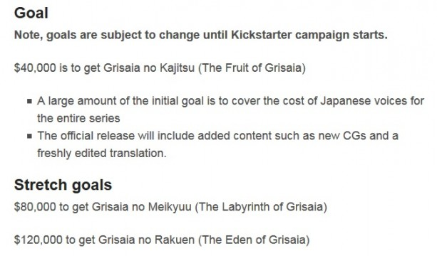 kickstarter grisaia