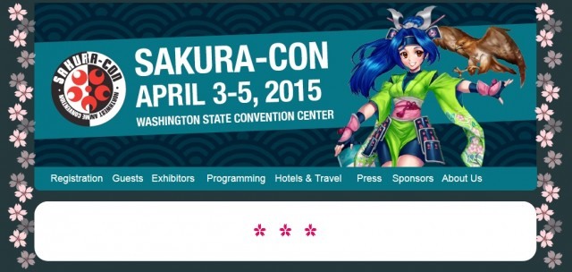 Sakura-Con 2015 Website
