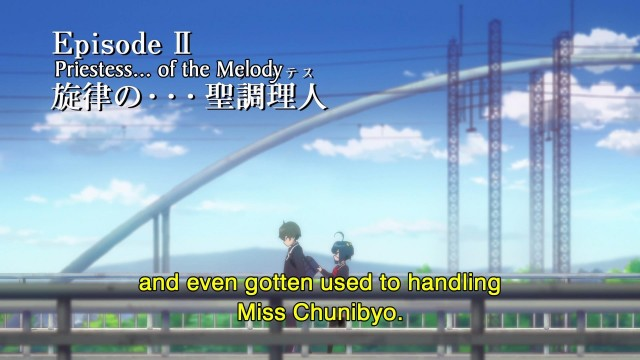 Love Chunibyo and Other Delusions - 02 - Title