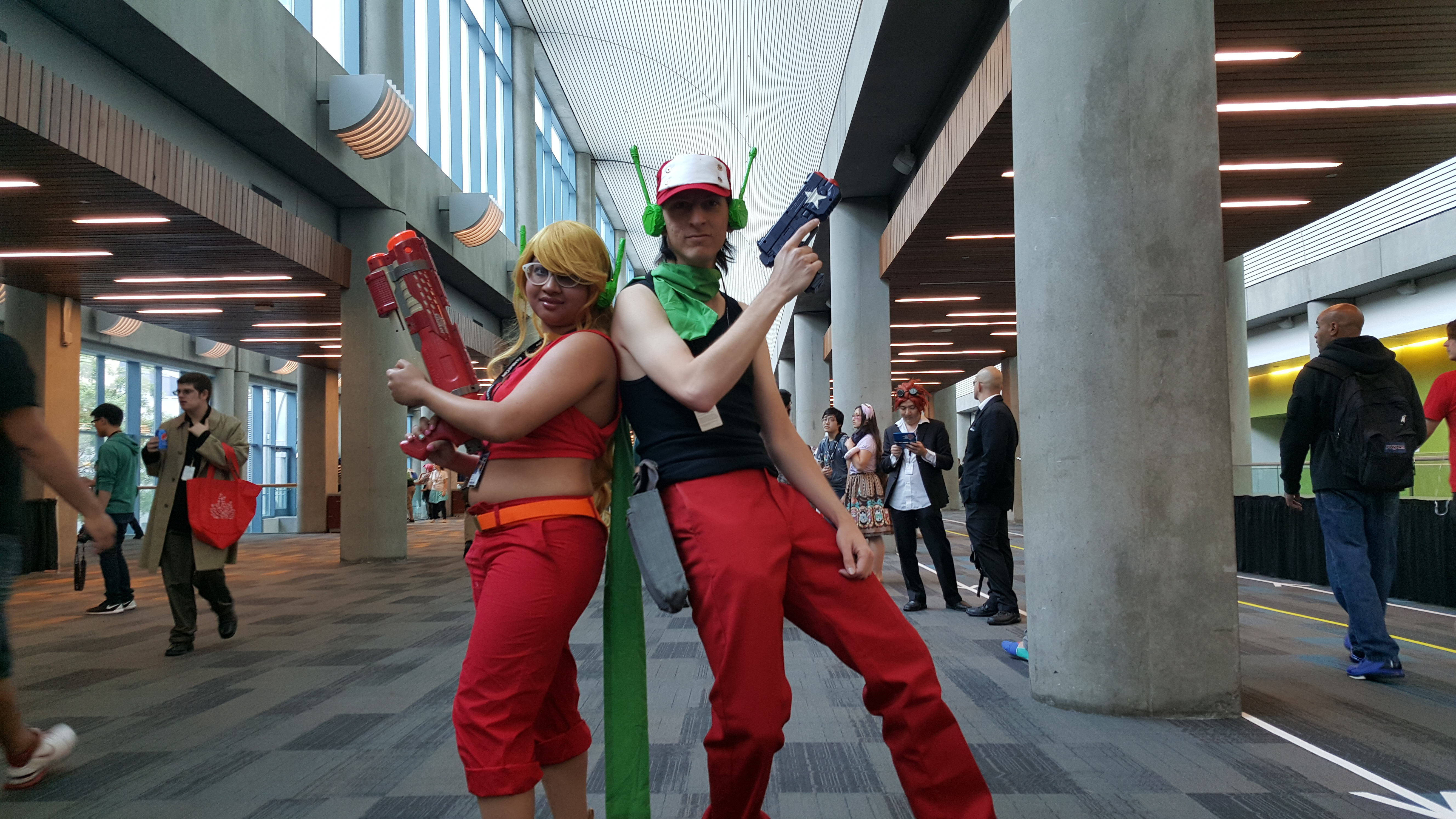 Fanimecon 2015 cosplayery episode 01 friday curly brace x quote cave story voltagebd Gallery