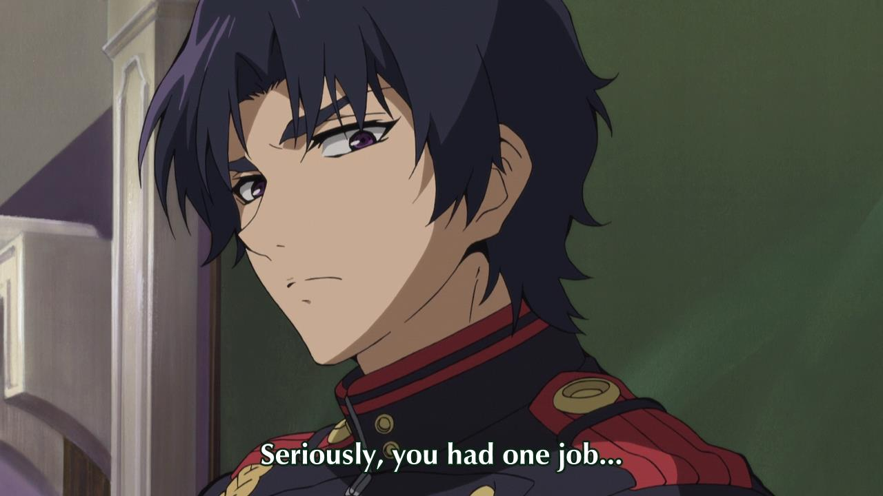 Subtitle Comparison: [DerpDesuYo vs Funimation vs Vivid] Owari no Seraph (Episode 04)