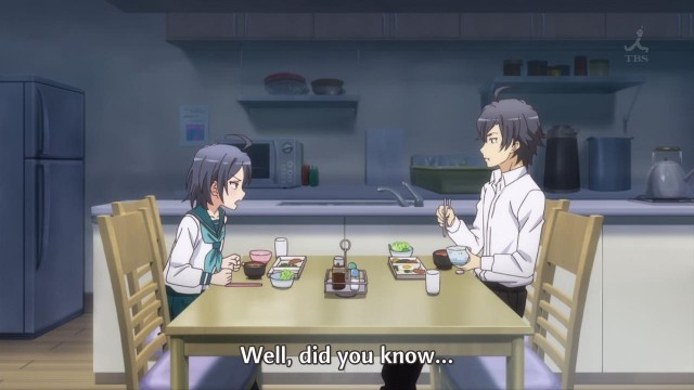 [Commie] Yahari Ore no Seishun Love Comedy wa Machigatteiru. Zoku - My Teenage RomCom SNAFU TOO! - 03 [57627F30].mkv_snapshot_00.37
