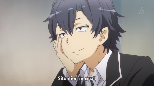 [Commie] Yahari Ore no Seishun Love Comedy wa Machigatteiru. Zoku - My Teenage RomCom SNAFU TOO! - 03 [57627F30].mkv_snapshot_04.08