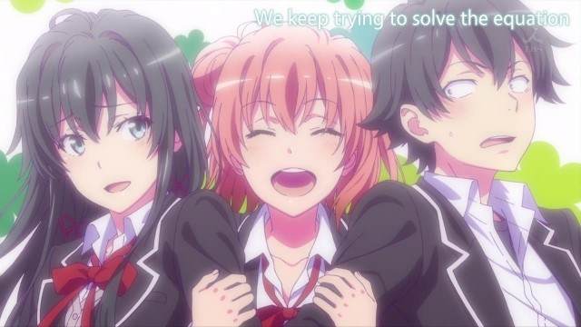 [Commie] Yahari Ore no Seishun Love Comedy wa Machigatteiru. Zoku - My Teenage RomCom SNAFU TOO! - 03 [57627F30].mkv_snapshot_22.59