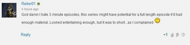 In general, Crunchyroll commenters should not have internet access.