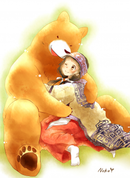 Kumamiko-Machi_and_Natsu_-_PixivID-14230436