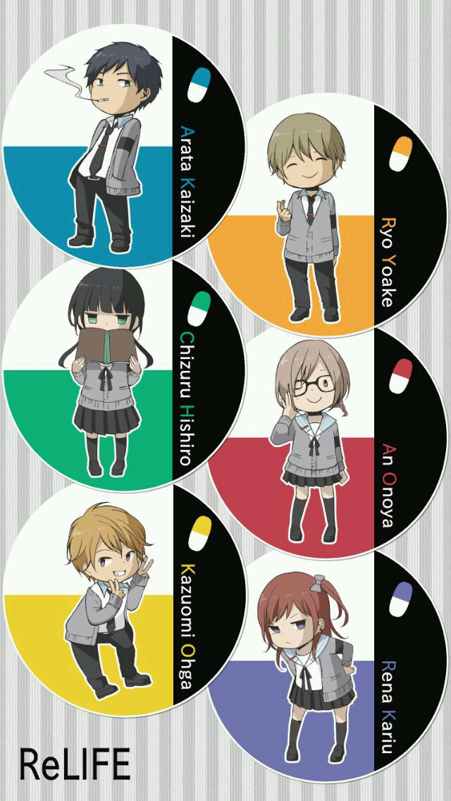ReLife_Characters